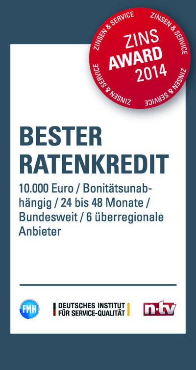 Bank11: Ratenkredit 10.000 Euro 24 - 48 Monate Laufzeit
